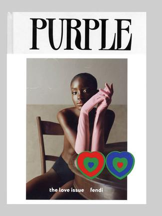 Purple cover.