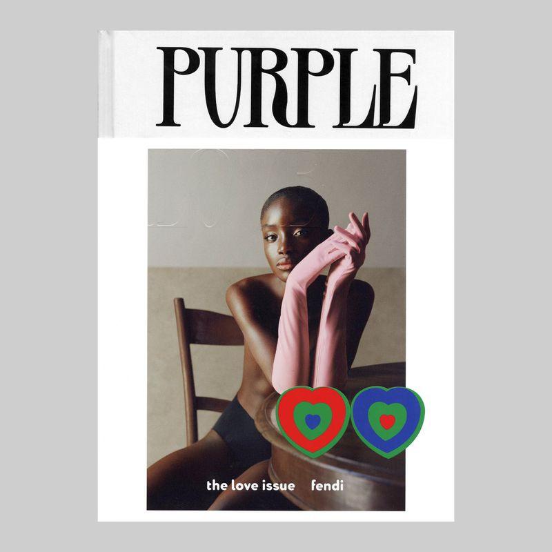 Purple cover shoot