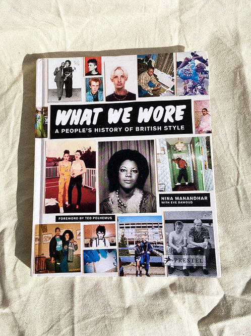 WHAT WE WORE/Nina Manandhar