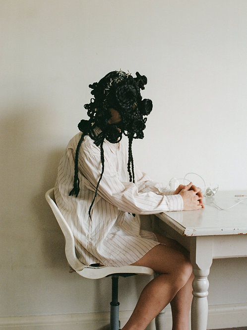 Yuuki Yanase bespoke Wig Black1