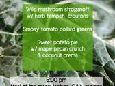 Vegan cooking class - 11/18