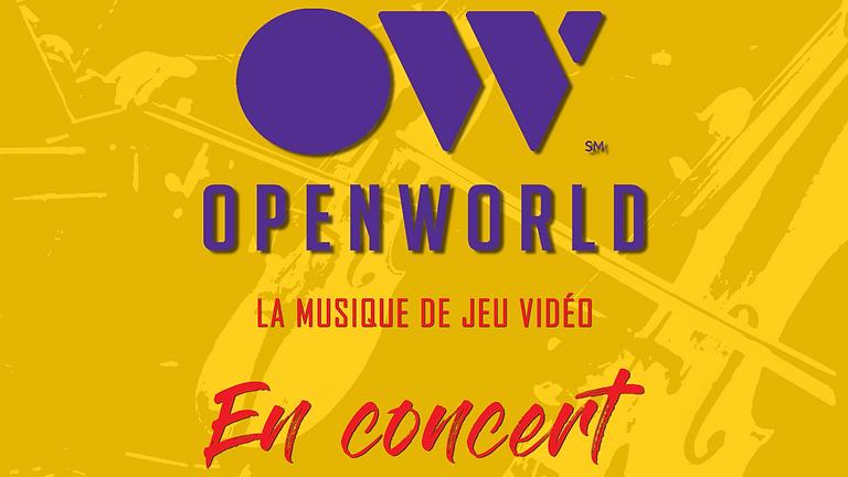 OPENWORLD : la musique de jeu vidéo en concert