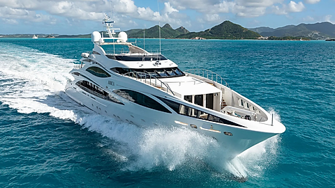 Benetti Luxury Yacht for Charter Adriatic