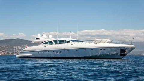 Mangusta 130 Yacht for Charter | WYB
