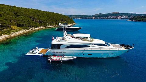 KATARIINA Ferretti Yacht for Charter Croatia | WYB