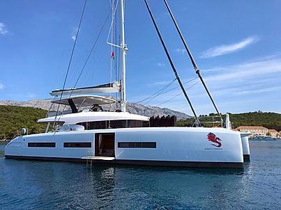 Lagoon Catamaran for Charter Croatia