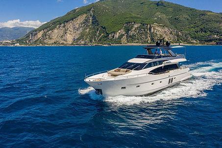 Sanlorenzo SL78 for Charter Italy | WYB