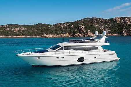Ferretti Yacht for Charter Costa Smeralda