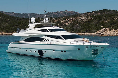 Ferretti Yacht for Charter Porto Cervo | WYB