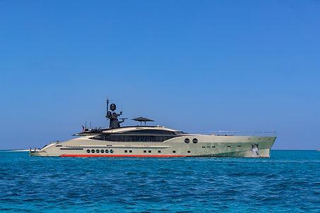 DB9 Palmer Johnson Yacht for Charter   WYB
