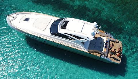 Cayman 58 for Charter Porto Cervo   WYB