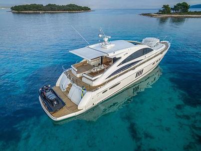 Princess Yacht for Charter Croatia | WYB