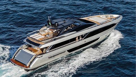 Riva 100 Corsaro for Charter Croatia | WYB