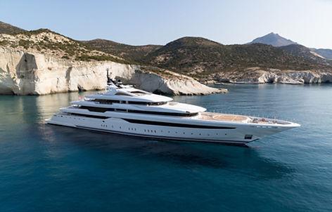 O'PARI Superyacht for Charter   WYB