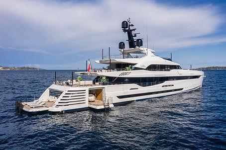 LEL Rossi Navi Superyacht for Charter