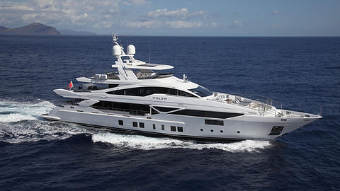 Luxury Yacht Benetti for Charter | WYB