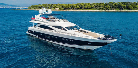 Sunseeker Luxury Yacht for Charter | WYB