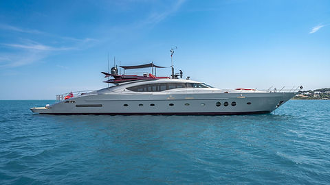 Luxury Palmer & Johnson for Charter | WYB