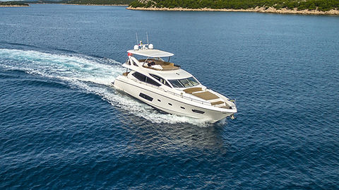 A Cloudy Bay Sunseeker Yacht for Charter Croatia | WYB