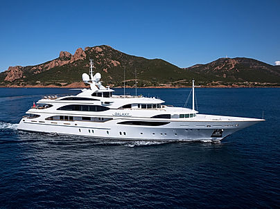 Superyacht Galaxy for Charter