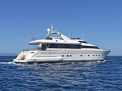 Luxury Yacht for Charter Greece
