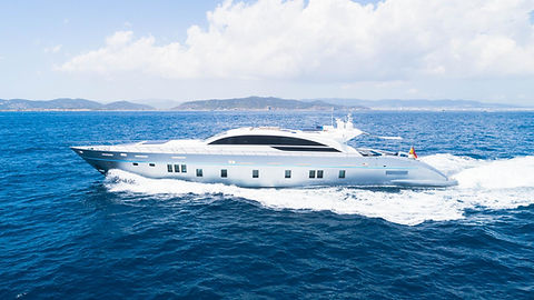 Blue Jay Yacht for Charter Balearics Ibizia | WYB