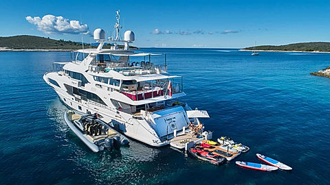 Superyacht Benetti Happy Me for Charter