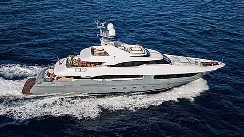 Superyacht Legenda for Sale and Charter