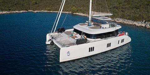 Sunreef Catamaran Sinata for Charter | WYB