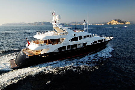 Blue Vision Benetti for Charter   WYB