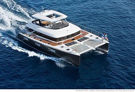 Catamaran Drago for Charter