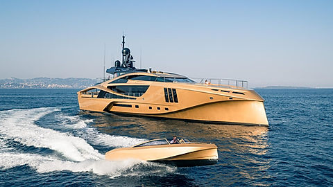Luxury Palmer & Johnson for Charter