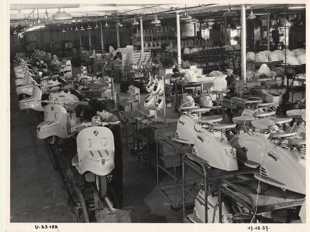 1957 Mandeure Factory