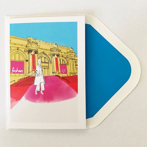 Greeting Card | The Mets Love Fashion