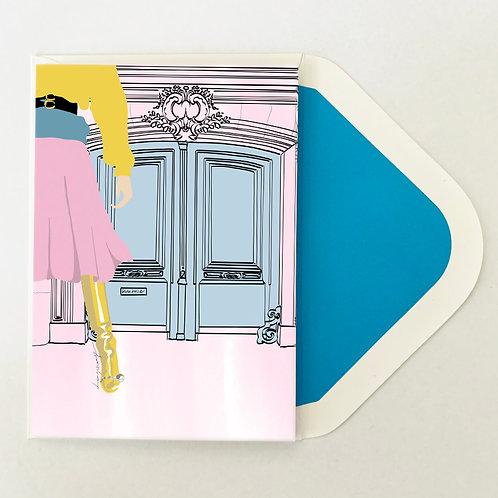 Greeting Card | Pastel Paris