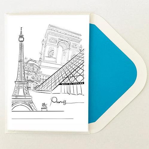 Greeting Card | We Paris