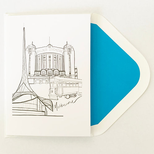 Greeting Card | Melbournmania
