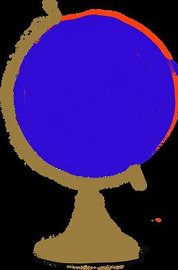 Illustrated Globe