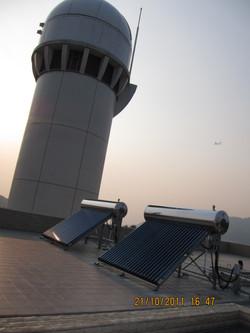 Ma Wan Solar Tower Solar Heater 馬灣熱水爐
