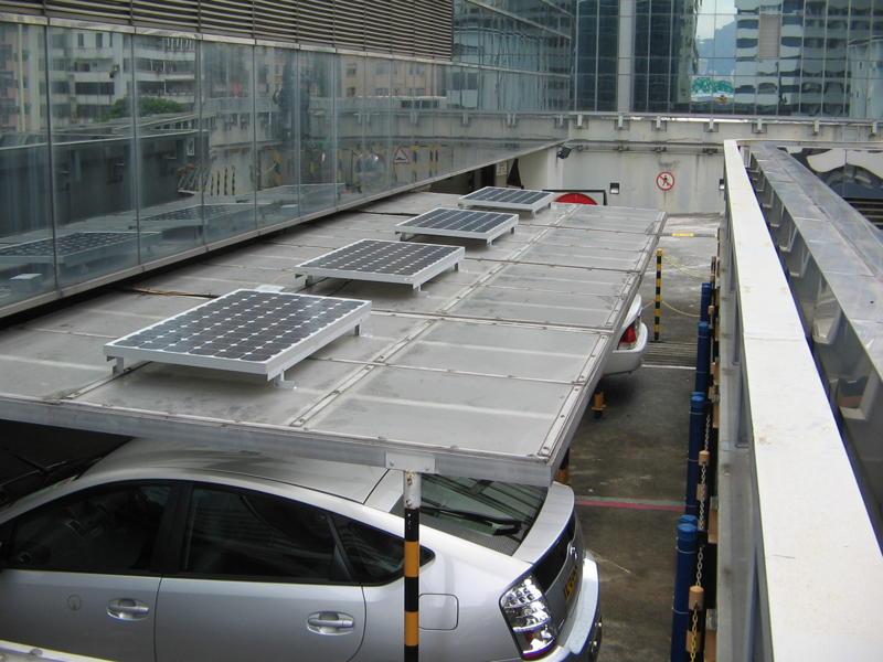 Towngas Carport 中華煤氣停車場