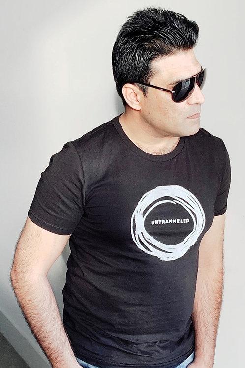 men's/unisex organic cotton 'untrammeled' artshirt