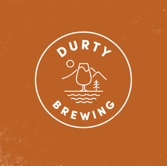 pmgd Web BRAND ID pics_Durty Brewing white on brown.jpg