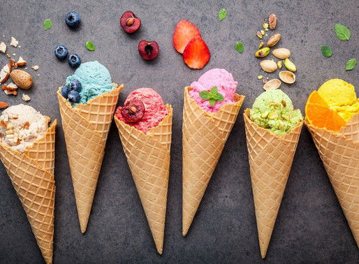 3 CREAMY AF DAIRY-FREE ICE CREAM FLAVORS