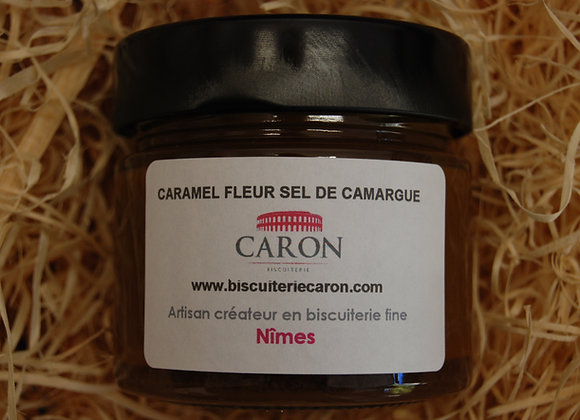 "Caramel à tartiner ""Fleur de sel de Camargue"""