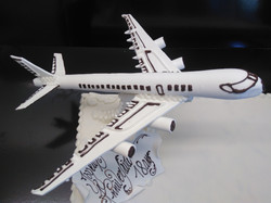 présentoir Avion