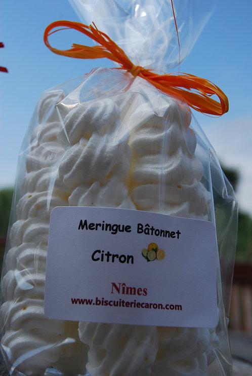 Meringues Bâtonnets  Citron