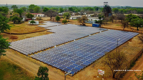 Solar power plant in Africa, Cost Saving Solar System