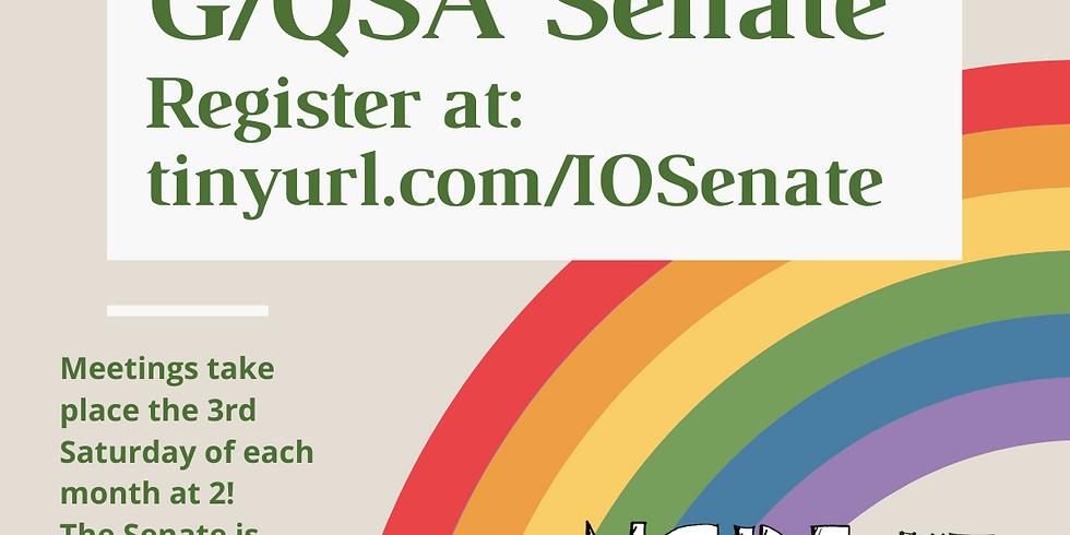 December Senate Meeting