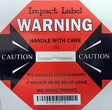 Impact Label 75G