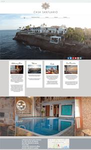 Wix Website: Casa Santuario